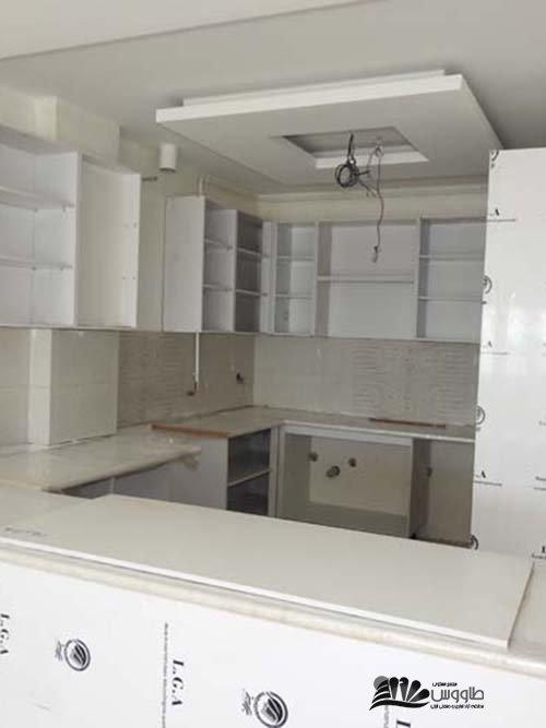 آشپزخانه در حال اجرای واجدهای جنوبی بلوک B
